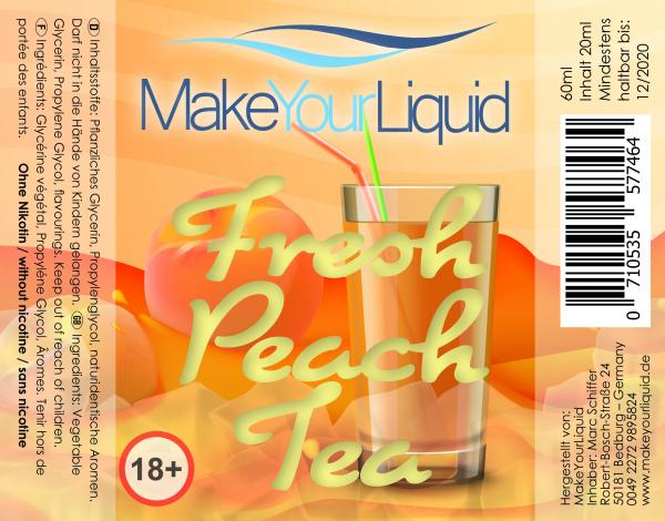 Fresh Peach Tea